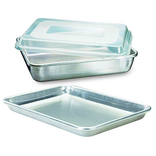 Nordic Ware Natural Aluminum Commercial 3piece Bakers Set Quarter Sheet And Cake Pan More Info Could Be F Aluminum Baking Pans Nordic Ware Aluminum Bakeware