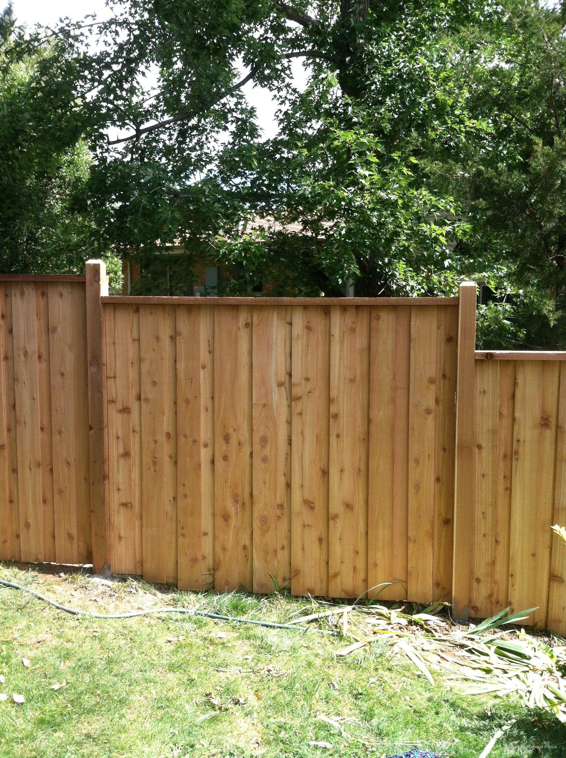 Wood Privacy Fences Backyard Fences Fence Design Building A Fence