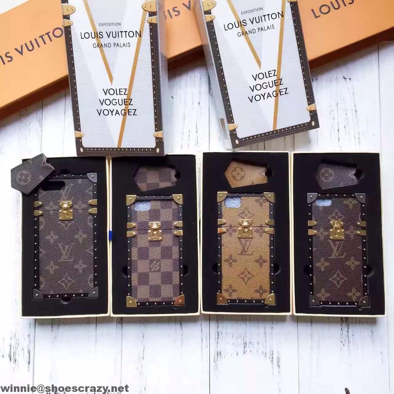 huge discount 926b4 54981 Louis Vuitton Petit Malle Trunk Phone Case 2017 | louis vuitton bags ...