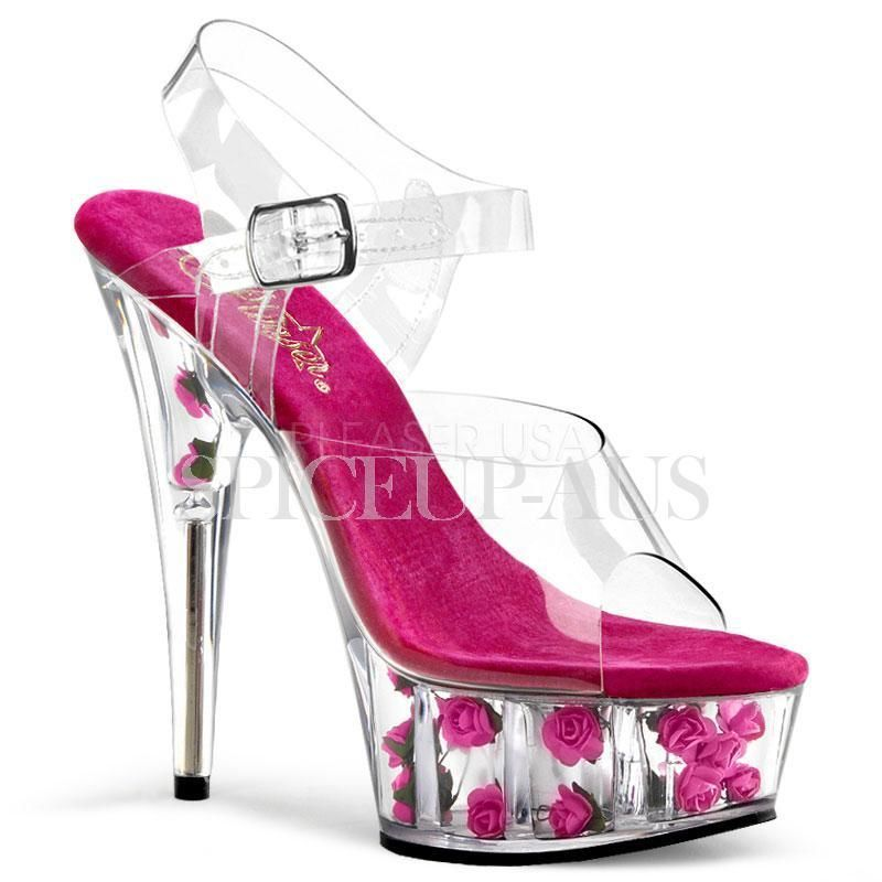 para Zapatos Delight rosas mujer Pleaser R7qzR