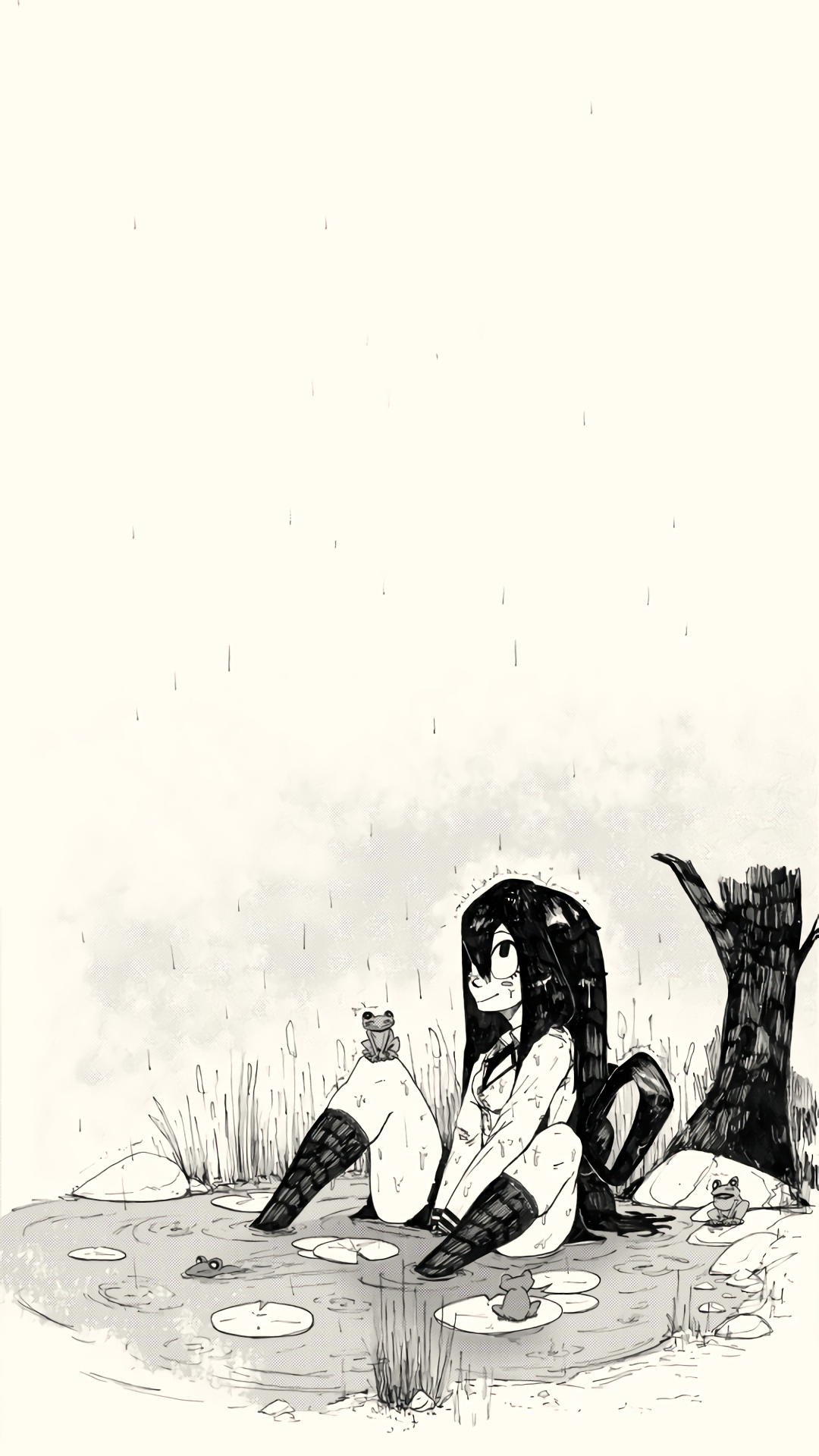 A rainy day [My Hero Academia](1080 x 1920) Need iPhone