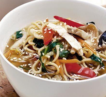 Teriyaki noodle broth recipe teriyaki noodles ramen and noodle forumfinder Image collections