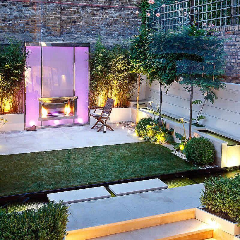 Contemporary Garden Design Examples In London By The Garden Builders Landscape Consultants Contemporary Garden Design Modern Garden Design Modern Garden