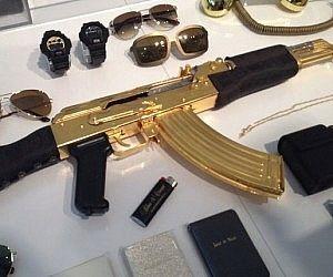 Versace Gold AK-47 Rifle