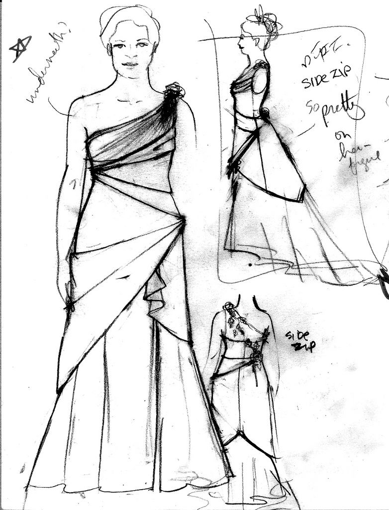 How to Design your own Wedding Dress | Sketches Fashions | purse ...