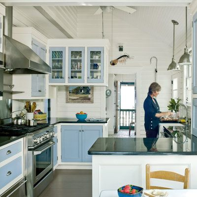 20 Beautiful Beach Cottages. Coastal KitchensBeach ...