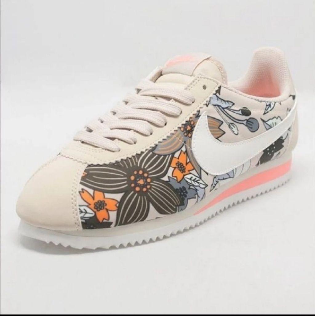 Nike Cortez Prem Floral Print Tennis