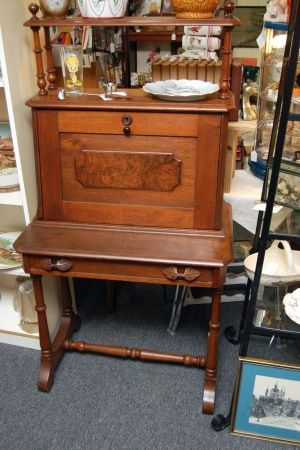 Beautiful Fold Out Desk At Greshamantiques Raleigh Nc Antiques