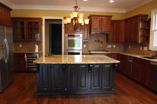 Tremendous Dream Kitchen Dark Cabinets With The Tan And Brown Marbled Download Free Architecture Designs Embacsunscenecom