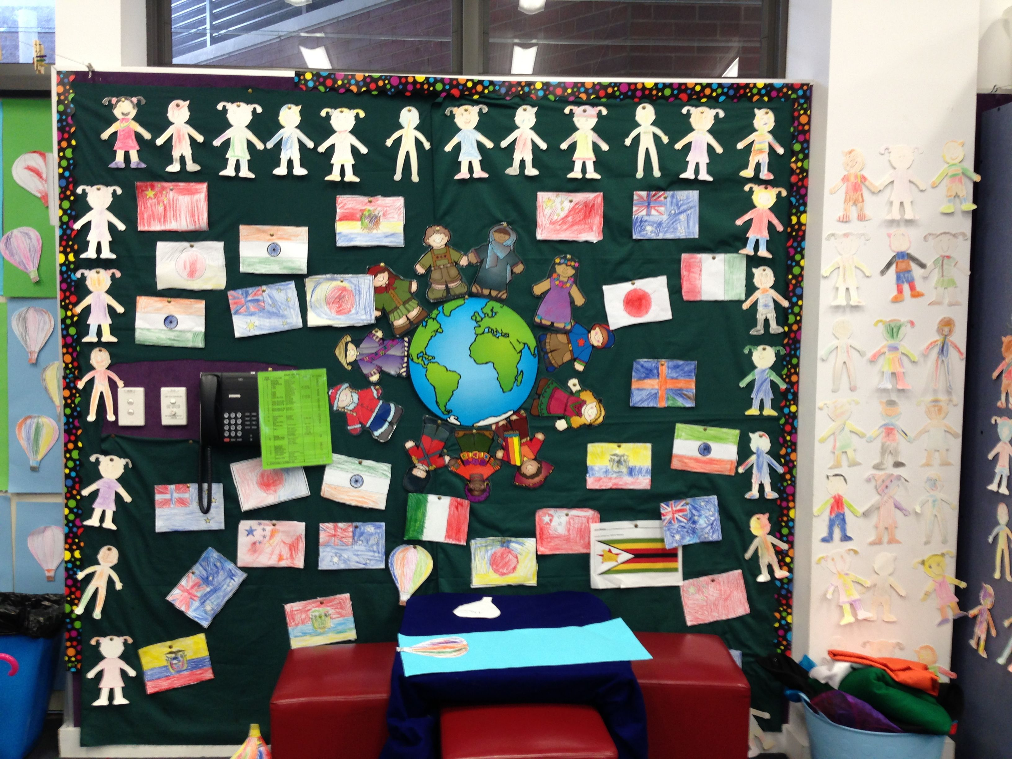 Cultural Display Wall