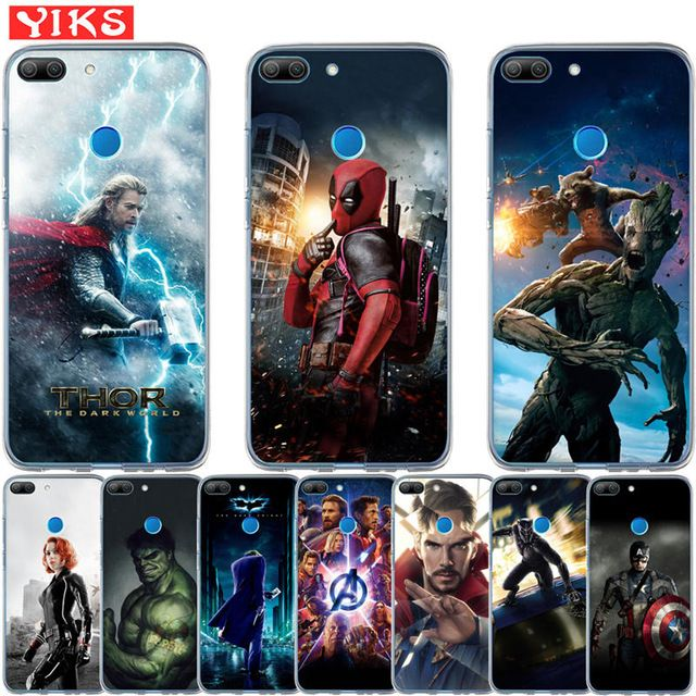 coque huawei p10 marvel