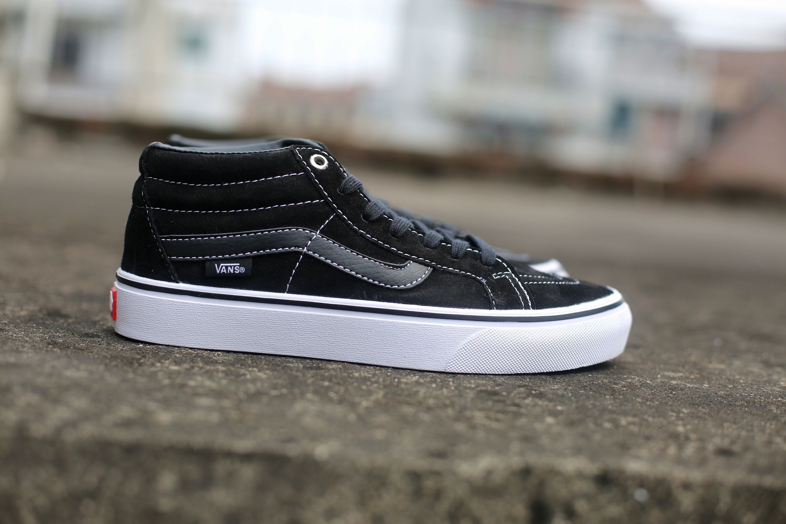 0a3c2eb681d Vans SK8-Mid Pro Purple Light Black HK08 Skate Shoes  Vans