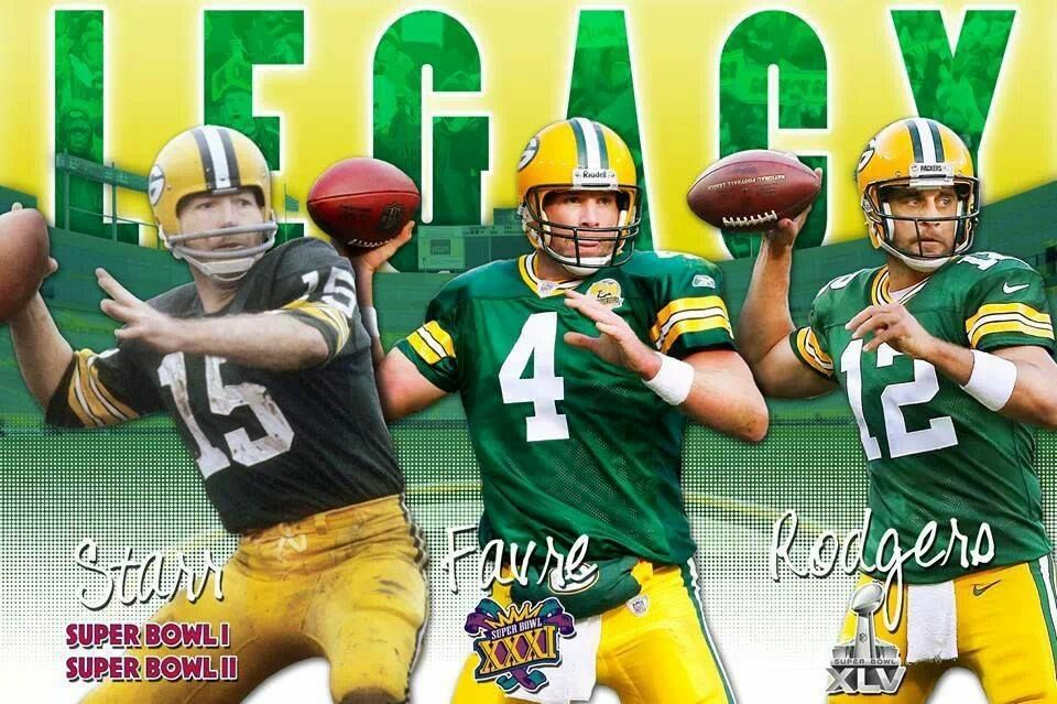 The Legacy of Packer Quarterbacks Green bay packers fans