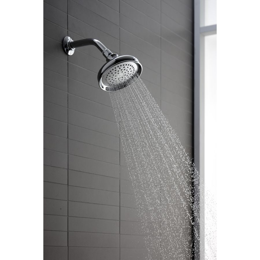 shower head for pool bathroom via lowes shop kohler bellhaven 55in 25