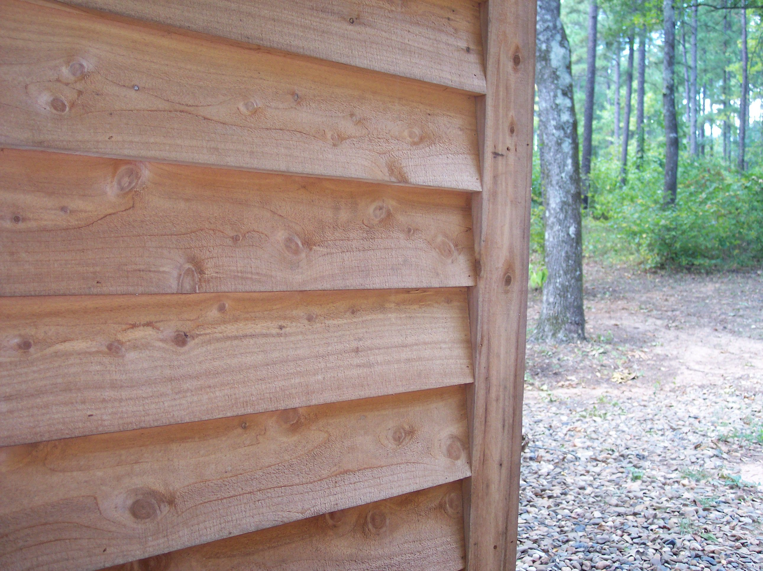 Red Cedar And Yellow Pine Log Siding V Groove Lumber From Silver Creek Sawmill In Oklahoma Wood Siding Exterior House Exterior Cedar Lap Siding