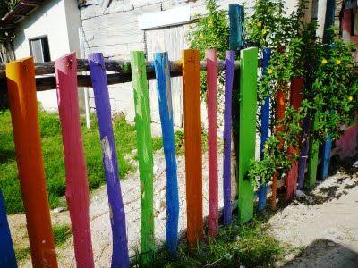 Jardin decocasa cercas y vallas dise o estilo y color for Cerrar valla jardin