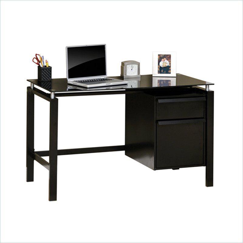 mobile lifestyle writing desk in estate black