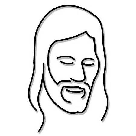jesus clip art yahoo image search results impressive rh pinterest com  face of jesus free clip art