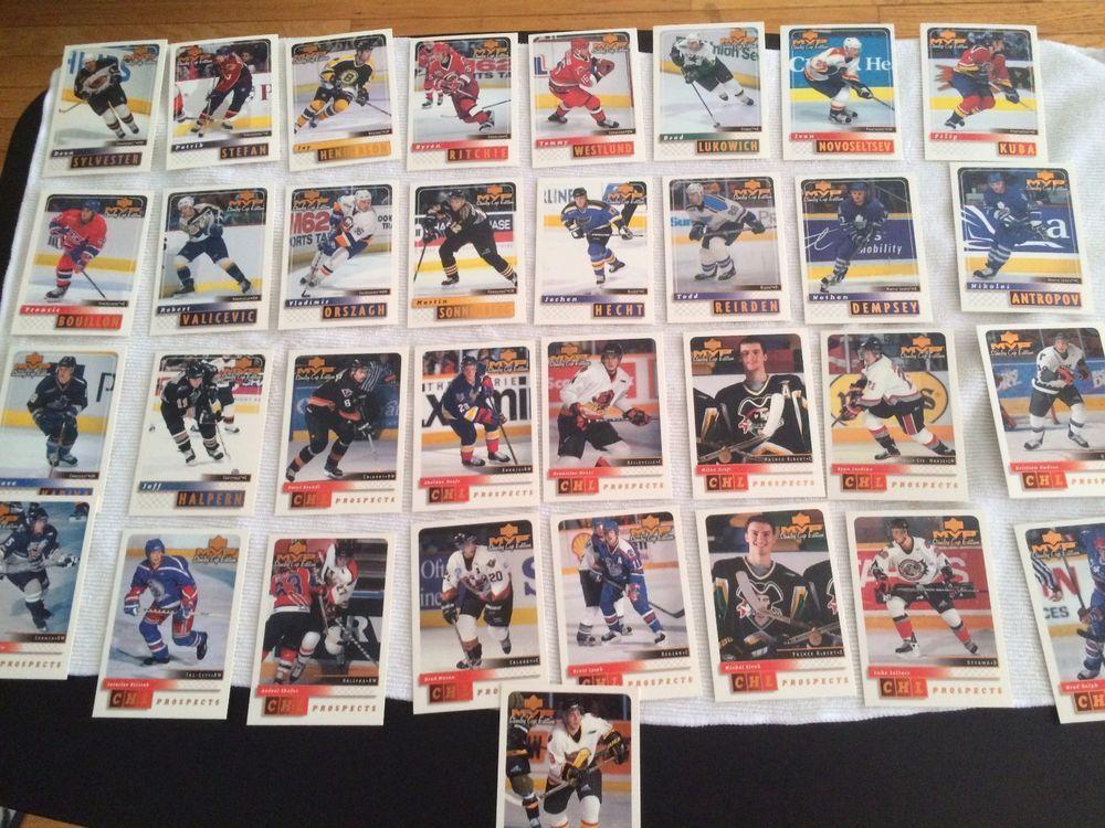 1999 2000 upper deck nhl hockey cards mvp stanley cup