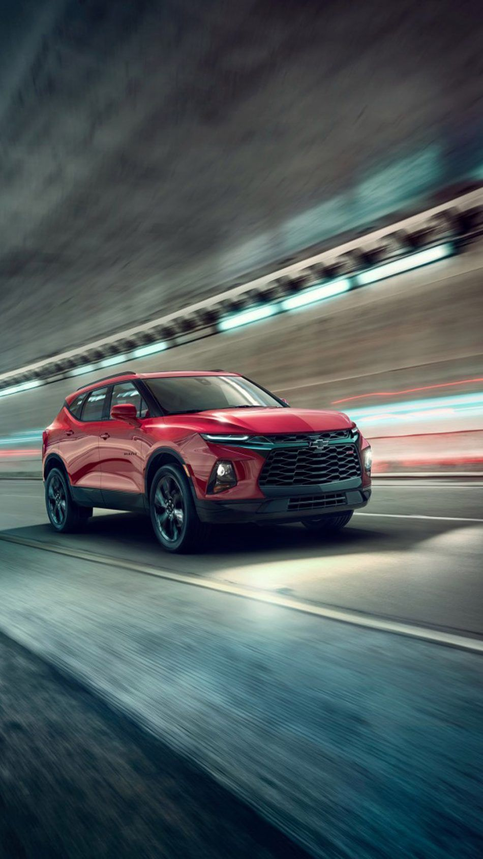 Red Chevrolet Blazer Rs Suv With Images Chevrolet Blazer Suv