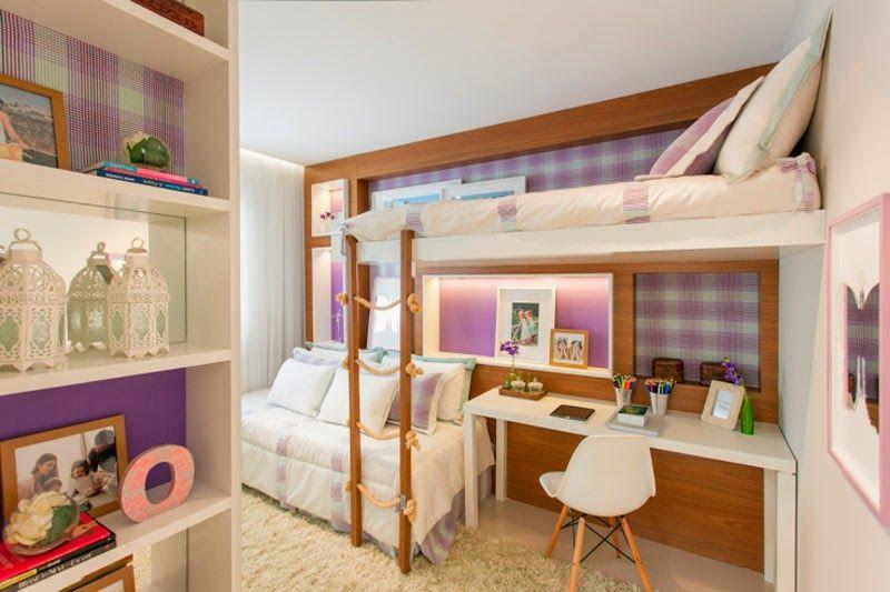 Cómo Colocar dos Camas en un Dormitorio para Niñas? by artesydisenos ...