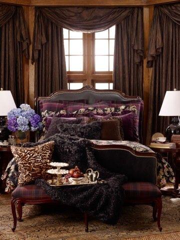architekuture-interior:    Ralph Lauren bedroom  ralphlauren.com