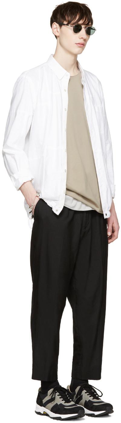 Attachment - Khaki Double Layer T-Shirt