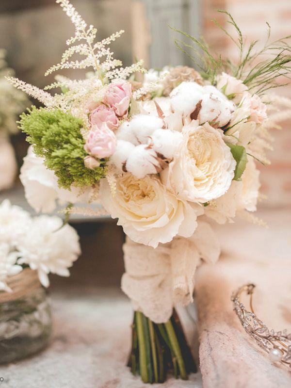 7 ramos de novia románticos en tonos pastel | tendencias de bodas