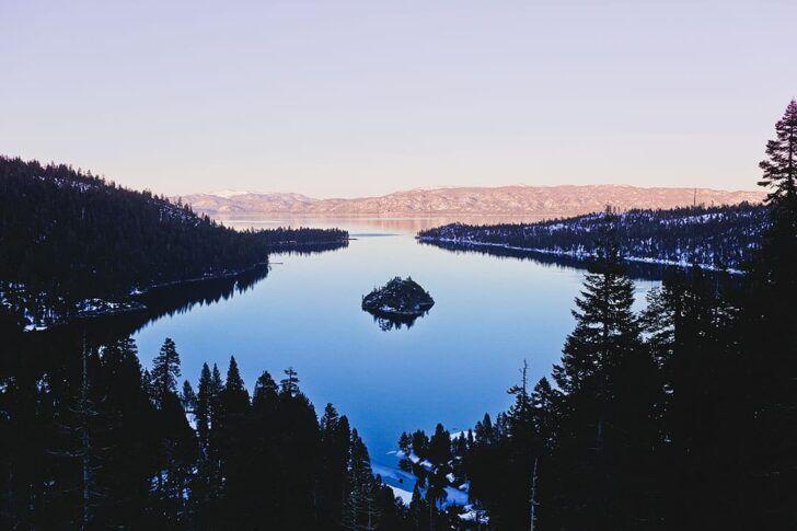 Lake Tahoe + 17 Best Honeymoon Spots in the US // Local Adventurer #tahoe #laketahoe #usa #visittheusa #ustravel