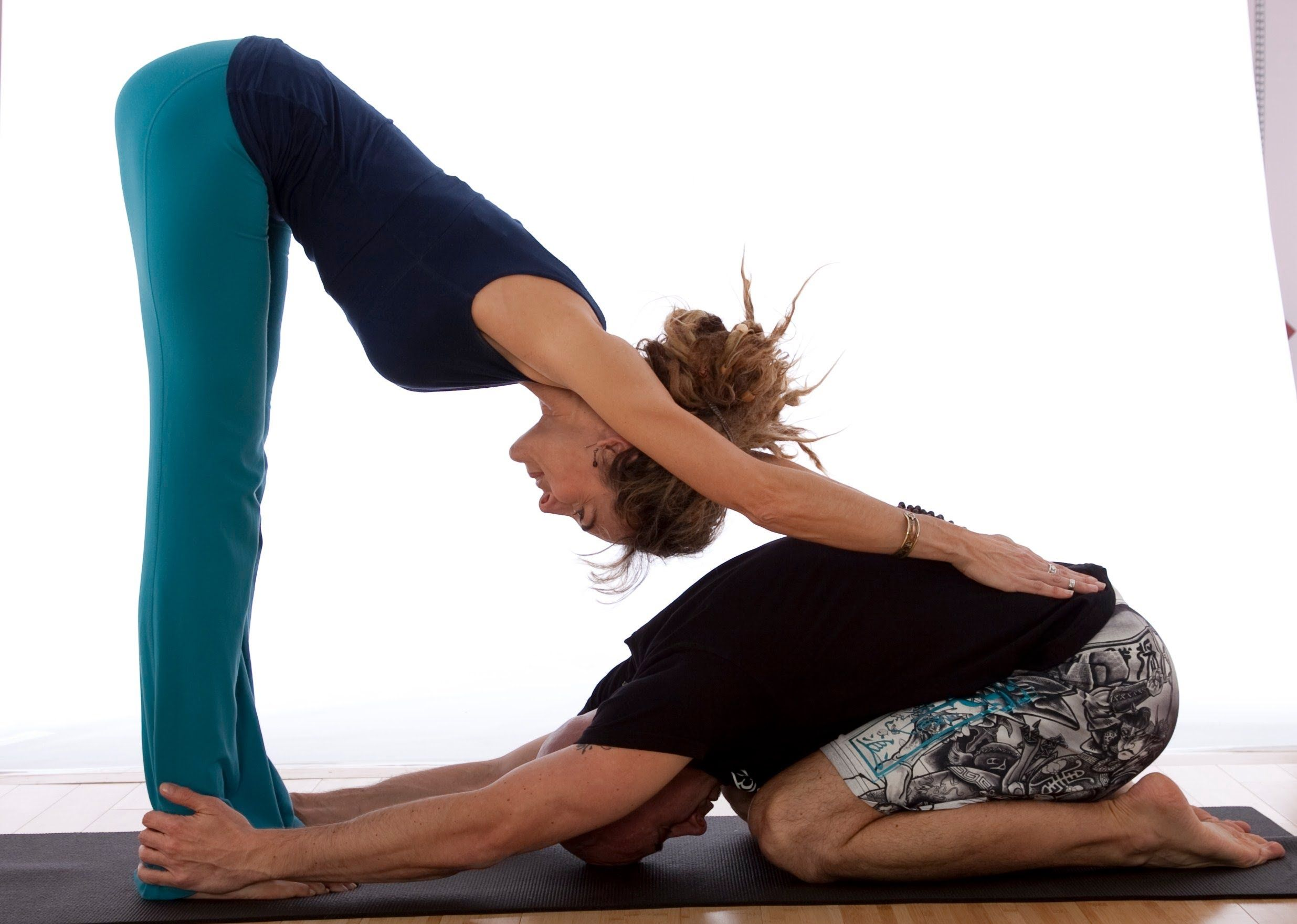 Easy Yoga Moves For Two