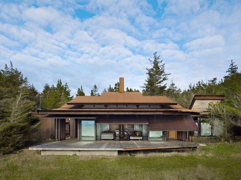 The 'Shadowboxx' located on Lopez Island, Washington, USA - Designed by Olson Kundig Architects