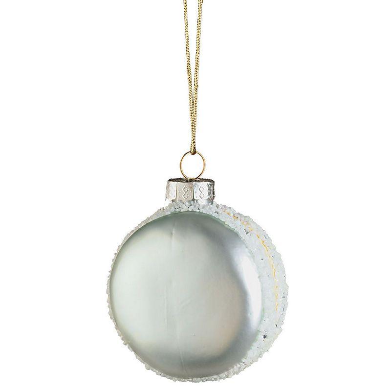 Light Blue Icey Macaron Ornament