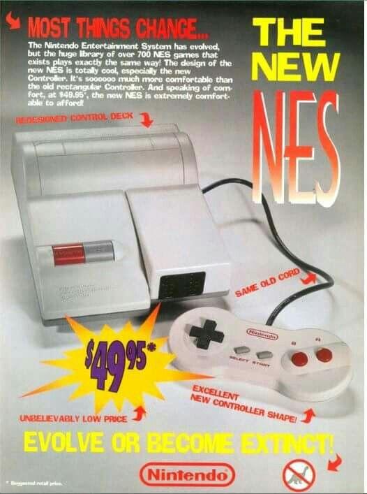 NES top loader ad #retrogaming #gamer #gaming #retro #nintendo #oldschool #NES #16bit#8bit #8bitevolution