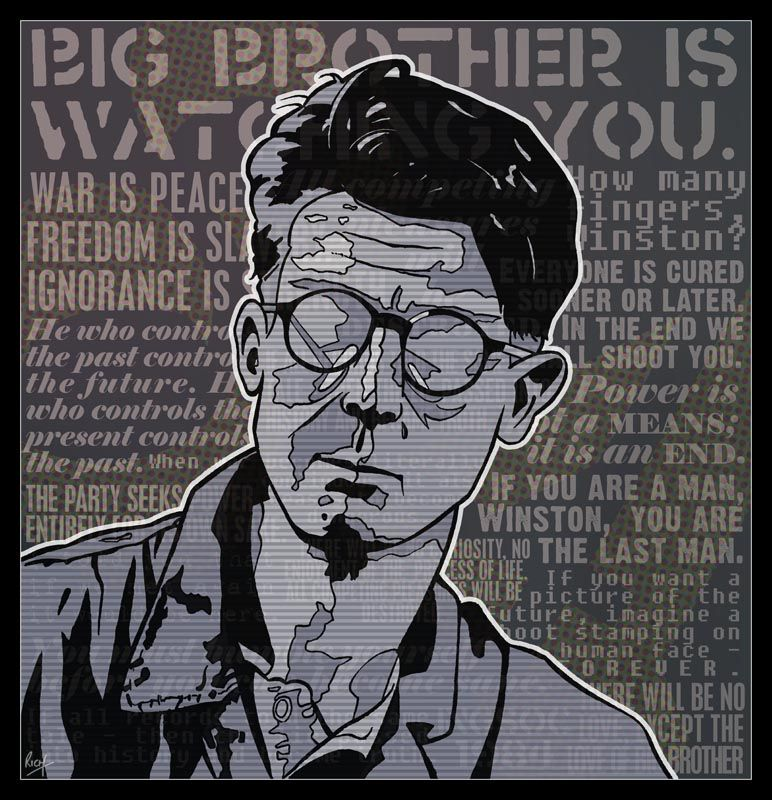 1984 movie big brother face