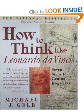how to think like leonardo da vinci gelb michael j