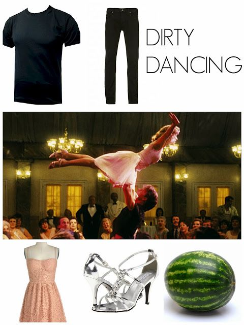 dirty dancing couple's costume! oh my gosh i want to do this!
