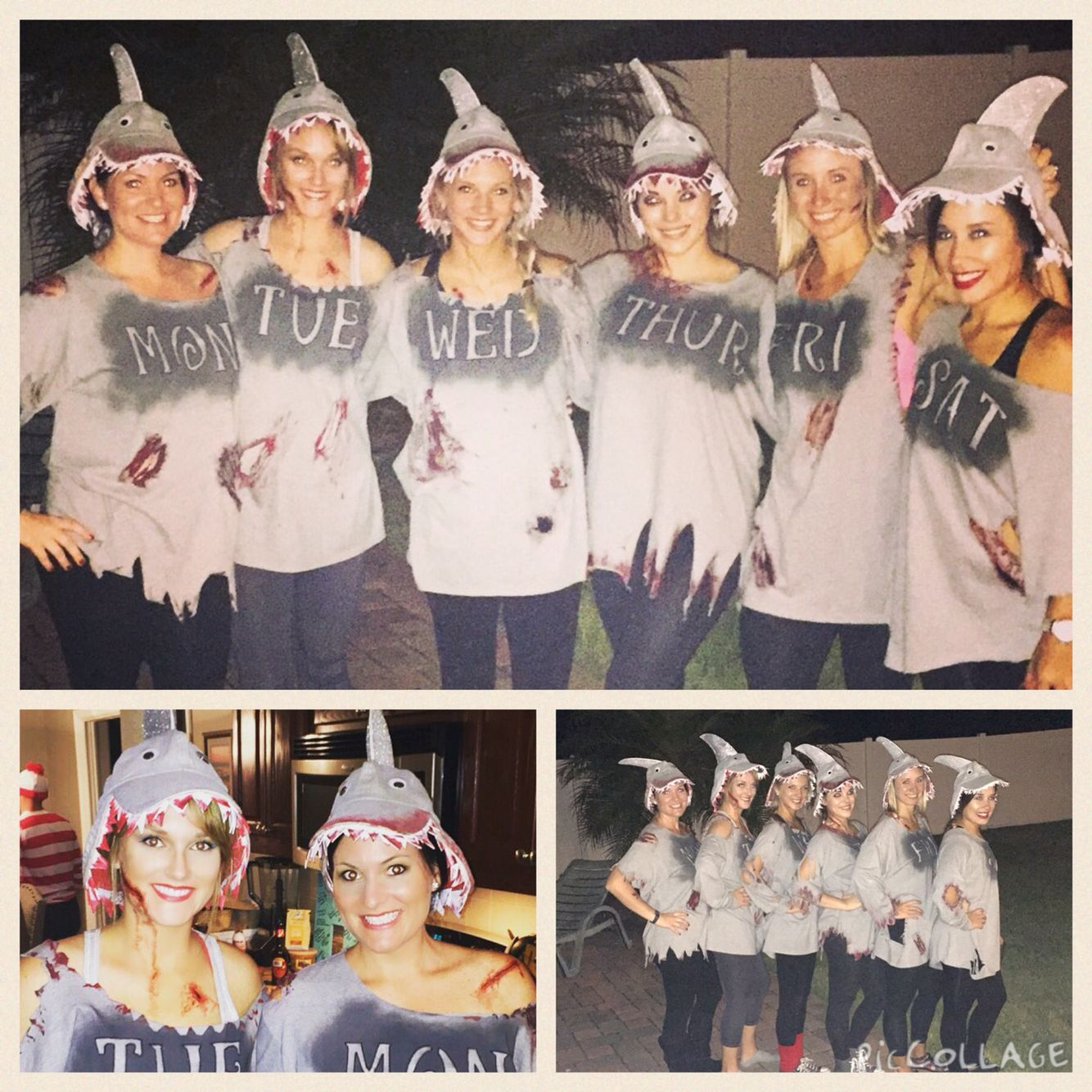 Shark week group costume homemade costume  sc 1 st  Pinterest & Shark week group costume homemade costume | Halloween | Pinterest ...