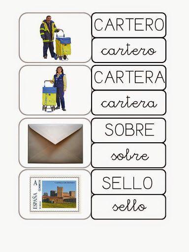 TARJETAS MAYUSC Y MINUSC CARTERO - Nieves H - Álbumes web de Picasa