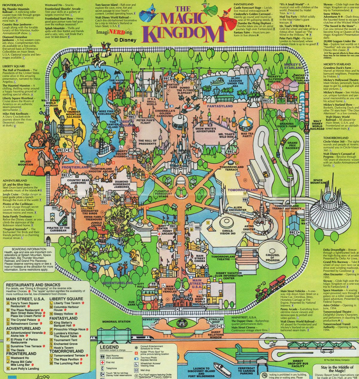 Lets stroll though the history of the magic kingdom by looking at lets stroll though the history of the magic kingdom by looking at magic kingdom maps freerunsca Gallery