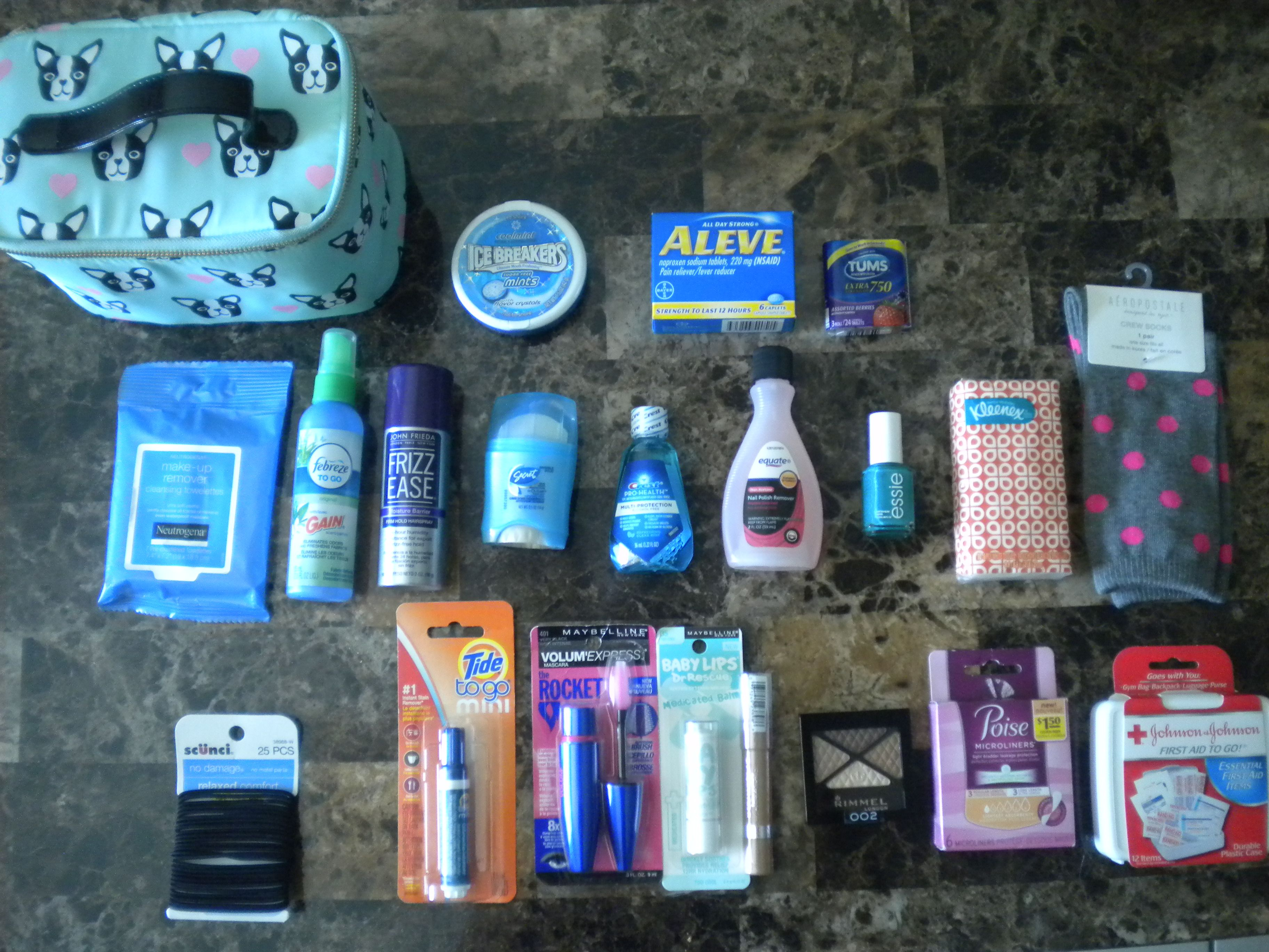 18th Birthday Car Emergency Kit Teenage Girl. 18th Birthday Car Emergency Kit Teenage Girl   Survival Kits