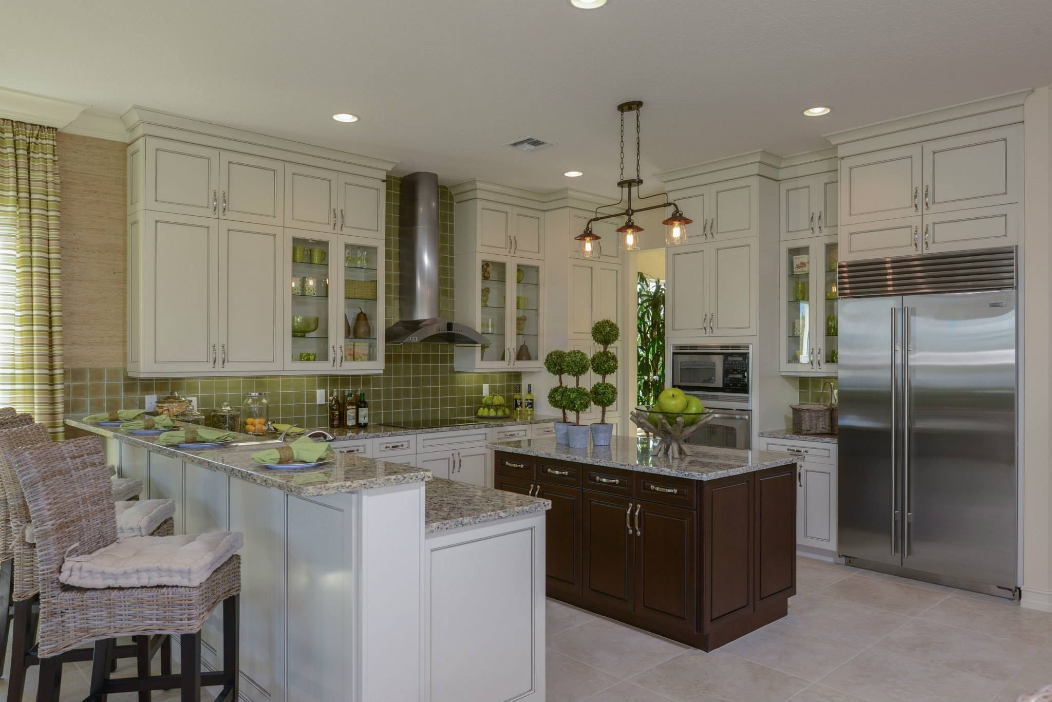 Pin By Gl Homes On Gourmet Kitchens Home Model Homes Florida Home