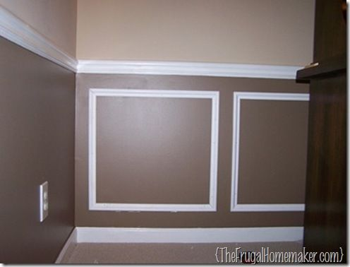 wainscoting in living rooms | design in the middle of the boxes ...