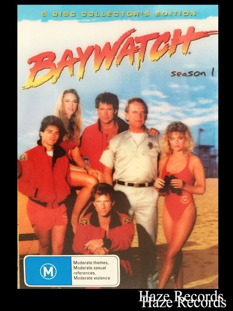 41c53c1b059 BAYWATCH Season 1, Collector s 6 Disc DVD Set. Holographic Cover ...