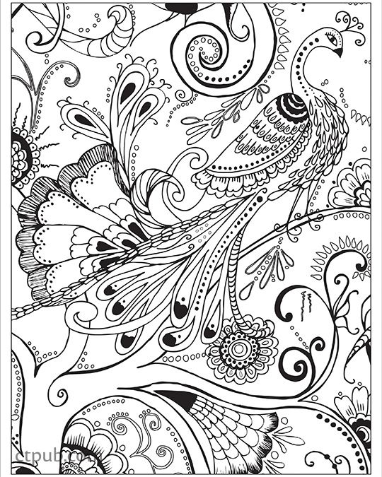 Boho Designs Coloring Book 18 Fun Designs See How Colors Play