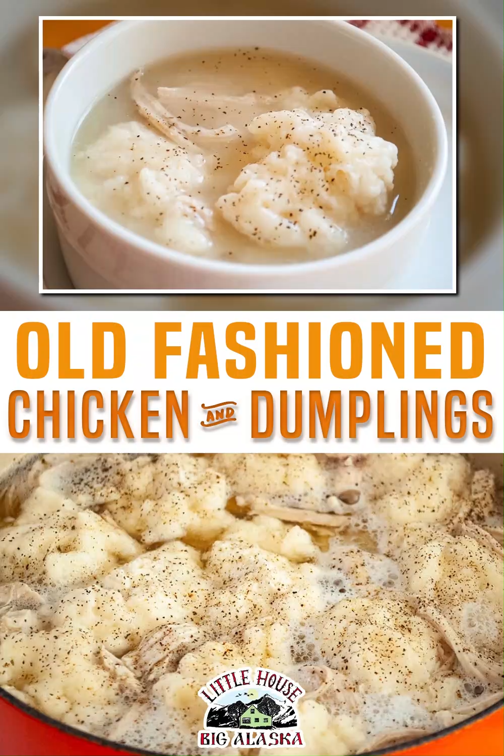 Old Fashioned Chicken and Dumplings Recipe!