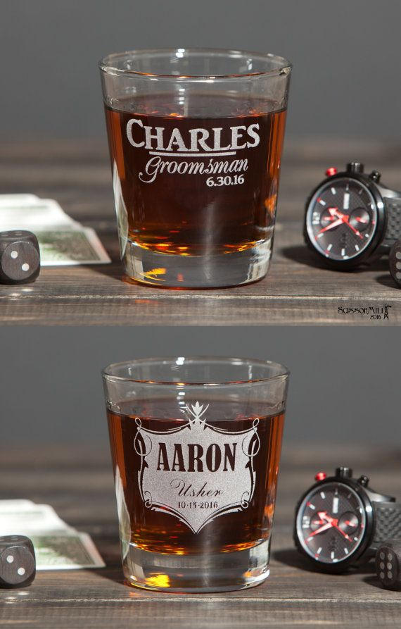 Groomsmen Gift Glasses Groomsmen Gift Best Man Gift Whiskey Glass