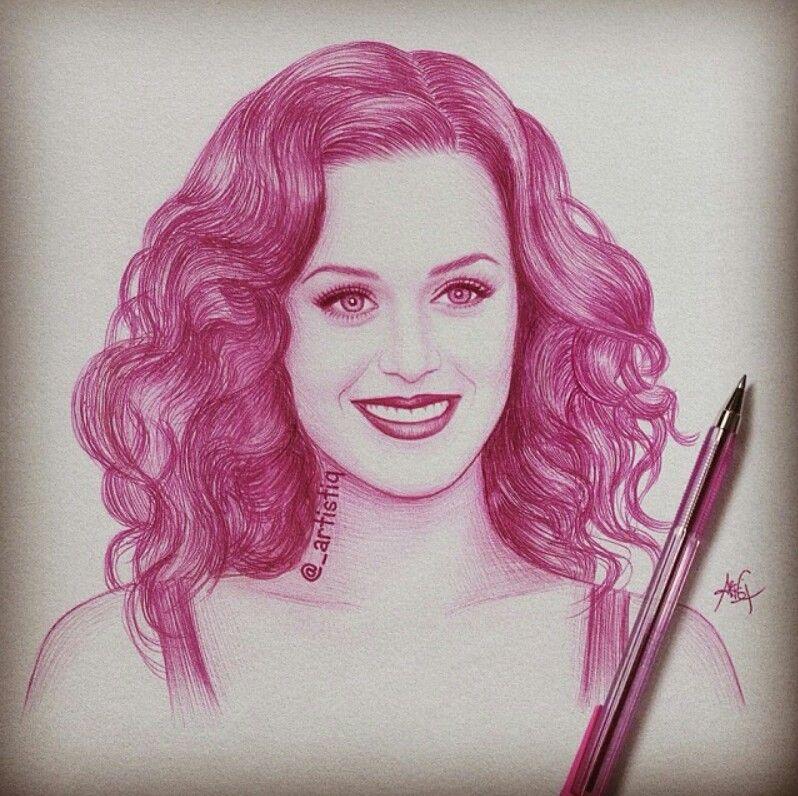 Katy perry by artistiq amazing drawingsamazing