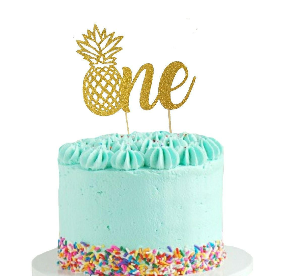 Excited To Share The Latest Addition My Etsy Shop Pineapple One Cake Topper