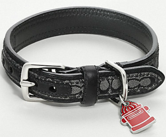 60a43aa6 Coach Dog Collars - Black Signature C | Puppy love | Coach dog ...
