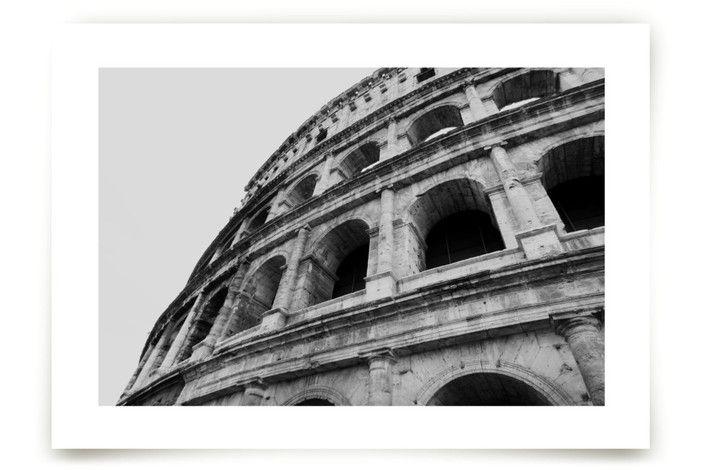 Coliseum of Rome Art Prints by Amanda Radziercz at minted.com
